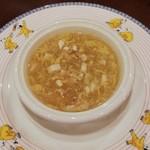 116420363 - 白身魚と豆腐のとろみスープ