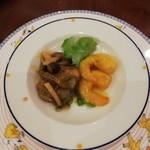116420364 - 海老とパーナ貝の2種作り
