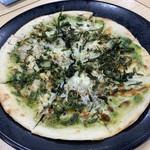 漁師料理 よこすか - しらすピザ