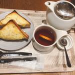 マザーリーフ ティー スタイル - モーニングチーズトーストセット