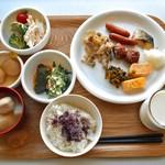 ホテル・アルファ-ワン - 料理写真:朝食(自分が取った料理)