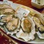 マリスコ - 真牡蠣3種食べ比べ