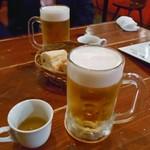 マリスコ - 生ビール & お通し
