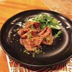 レストラン トロアの森 - 上州牛ランプ肉のローストビーフサラダ仕立て