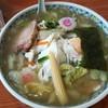 集来 - 料理写真:手打ち五目麺