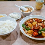 中華 大興 - ◼︎酢豚ランチ定食 700円