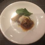 Prosciutteria Re:Pazza - 豚フィレ肉のナス、モッツレラチーズの重ね焼き