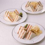 レジェ - ホテルオークラ特製サンドウィッチ(平日10:00~17:00)