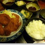 丸忠 - ヒレかつ定食