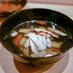 はらまさ - ☆椀物 白甘鯛と松茸