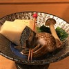 鮨 なか - 料理写真:突き出し:バイ貝煮つけ・里芋煮つけ・ほうれん草おひたし