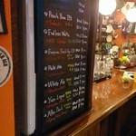 レッドドラゴン - ゲストビールメニュー