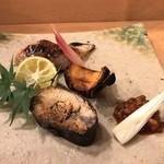 116441816 - 子持ち鮎の甘露煮(自家製)・のどぐろ焼き・丹波の焼き栗
