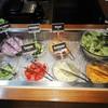 ニコリ - 料理写真:地場野菜のサラダバーはランチについてきます。