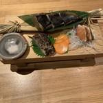 割烹バル 京ひろ - 藁焼き