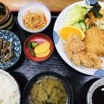 東京亭 - 料理写真:ミックスフライ定食