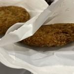 三富屋 - 料理写真:コロッケ、メンチ