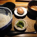 116450595 - 金目鯛煮汁の卵かけご飯