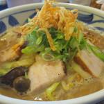 一徳 - 野菜たっぷりラーメン