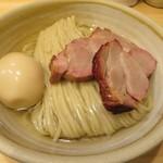 116453834 - 鰹昆布出汁特製つけ麺