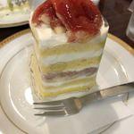 ツマガリ - 無花果のショートケーキ