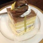 ツマガリ - 栗のショートケーキ