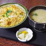 上の山亭 - 料理写真:地金目鯛のかつ丼