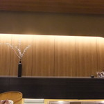 あら政 - カウンター内の壁に 【 2012年2月 】