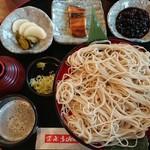 喜六そば - 冷たい蕎麦セット