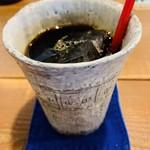 小春日和 - ランチセットのドリンク アイスコーヒー