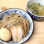 三谷製麺所 - 冷やしつけ麺、塩ダレ、中太麺α
