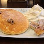 116463815 - リコッタパンケーキのモーニングセット