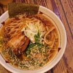 つけ麺らぁ麺油そば六朗 - 中華そば(2019.09)