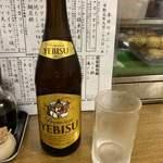 成田家 - エビス瓶ビール