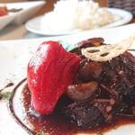 阿里美 - 料理写真:赤牛のじっくり煮込みランチ