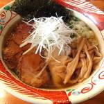 麺や 亀陣 - 鶏そば醤油_700円