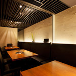 BAKURO - 最大15名様まで対応できる個室も備えております。