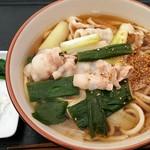 めんこ61 味菜工房 - 肉入りかけめんこ(中盛り)