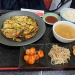 韓味屋 - 海鮮チヂミランチ(¥900)