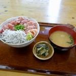 116473771 - [2019/08]鮪なかおち丼(1100円+税)