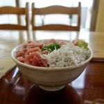 116473815 - [2019/08]鮪なかおち丼(1100円+税)