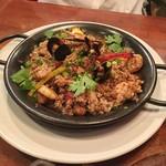 ラスト・カリフォルニアレストラン - ケイジャン ジャンバラヤ