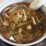 味の三喜 - 広東麺800円