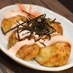 はち八 - 料理写真:明太マヨタコ8個(600円+税)