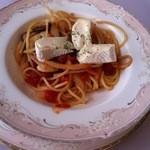 11648873 - トマトソーススパゲティ(カマンベールチーズ)