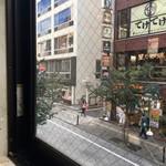 えびず - 窓からの眺め。
