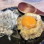Ebizu - 「炙りポテトサラダ」499円也。