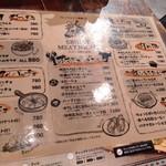 イタリアン酒場エビデイミートナイト - メニュー