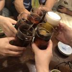 居酒屋 葉牡丹 - 乾杯!