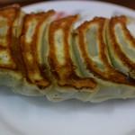餃子会館 磐梯山 - 餃子ダブル最初の5個